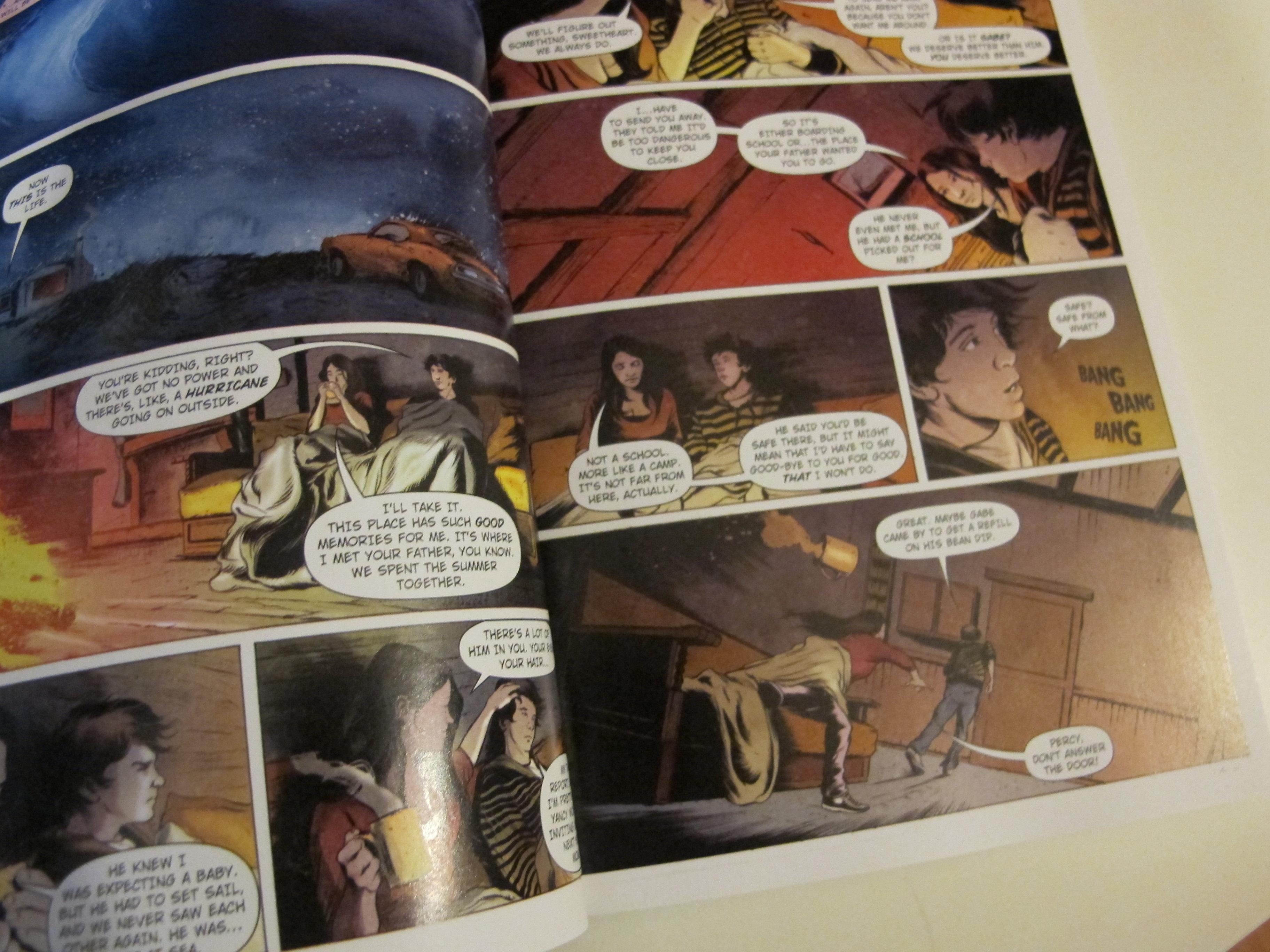 spotted graphic novel of the lightning thief hello saigon