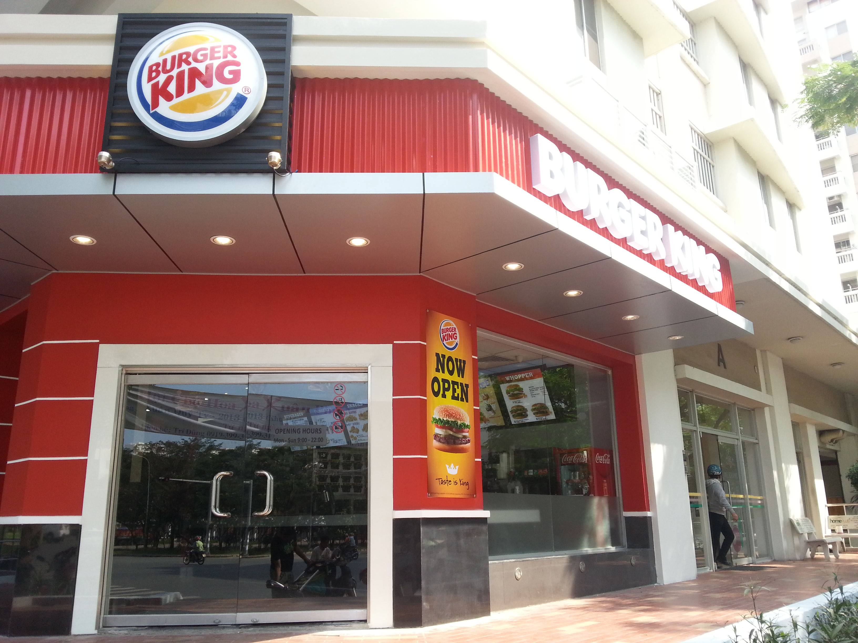 Western Fastfood in Ho Chi Minh City